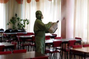 ДЕЗИНФЕКЦИЯ ТОЧЕК ОБЩЕПИТА В Кунгуре